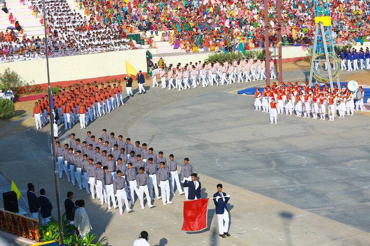 Sri Sathya Sai Higher Secondary School-Annual Sports Meet