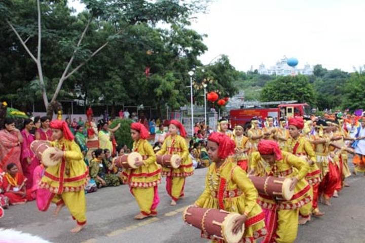 Sri Sathya Sai Higher Secondary School-Cultural Program
