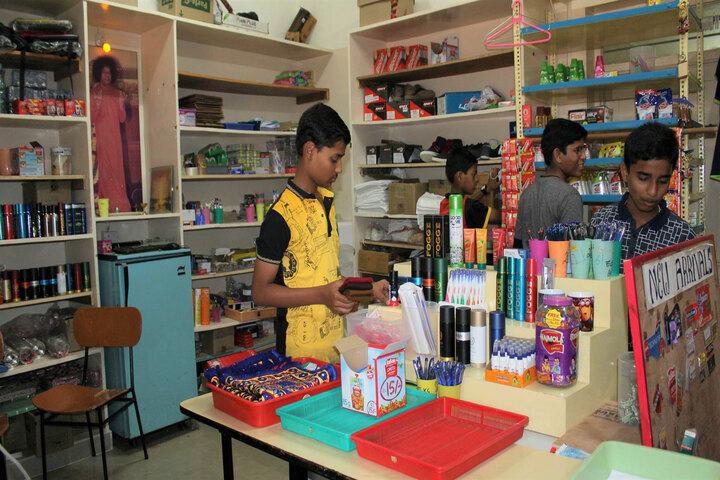 Sri Sathya Sai Higher Secondary School-Hostel Facility Store