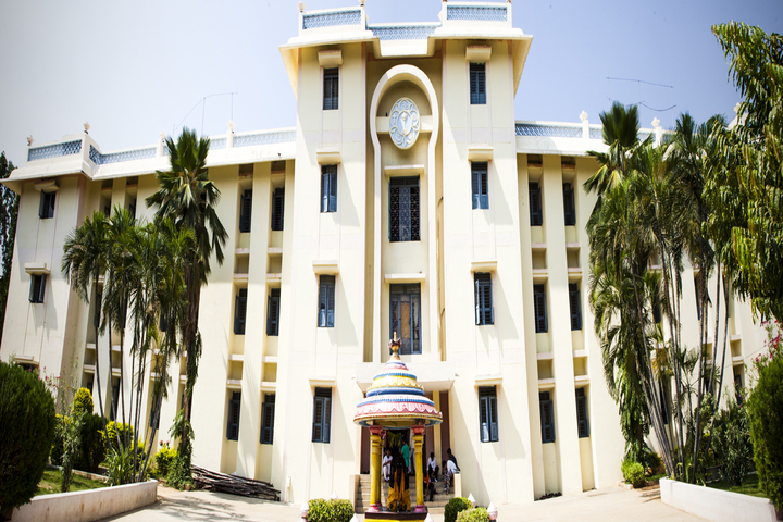 Sri Sathya Sai Higher Secondary School-School Building