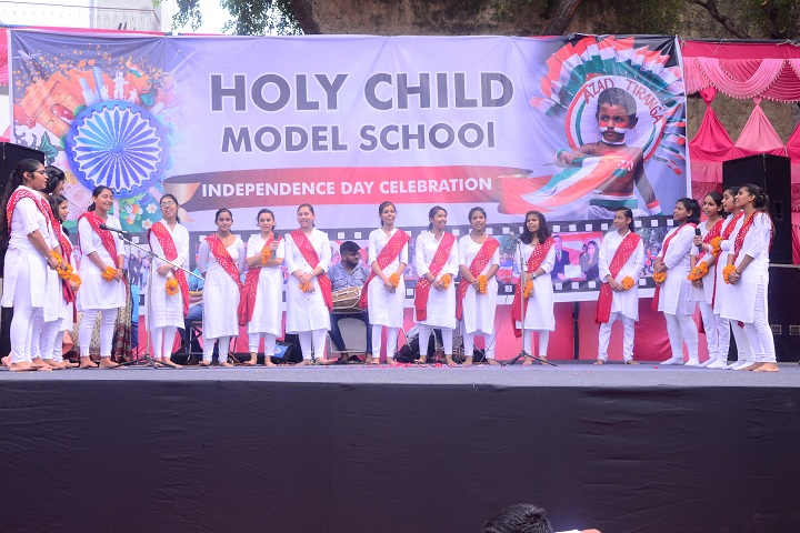 Holy Child Model School-Singing