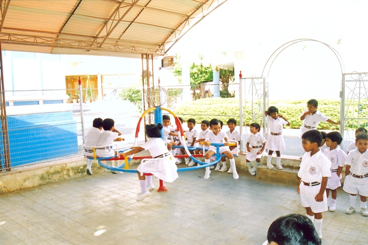 Sri Sathya Sai Vidya Vihar-Kids Play Area