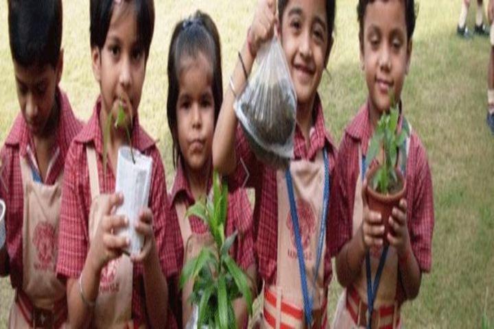 Hope Hall Foundation School-Tree Plantation