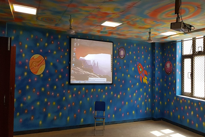 ITBP Public School-Project Room