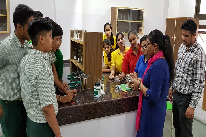 ITBP Public School-Chemistry Lab