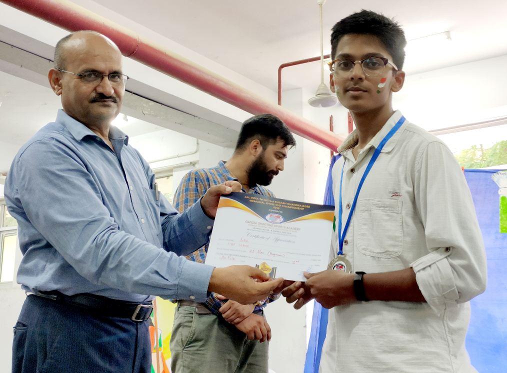 ITBP Public School-Certificate Prasentation