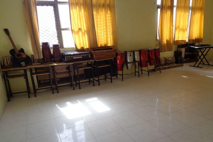 Indian Convent School-Music Room