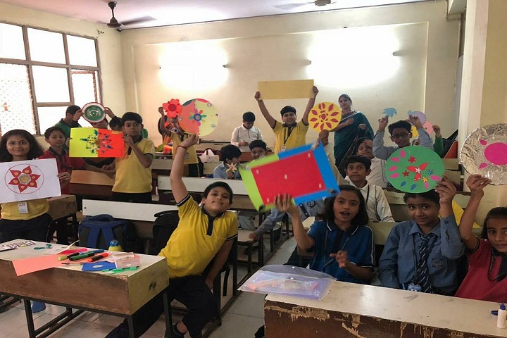 Indian Convent School-art and craft