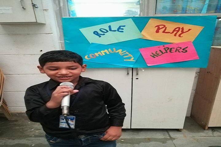 Indian Convent School-singing