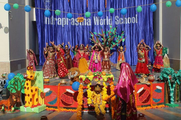 Indraprastha World School-Festival Celebration
