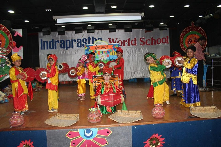 Indraprastha World School-Annual day