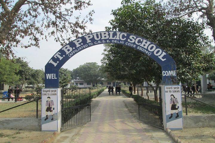 ITBP Public School-School Entrance