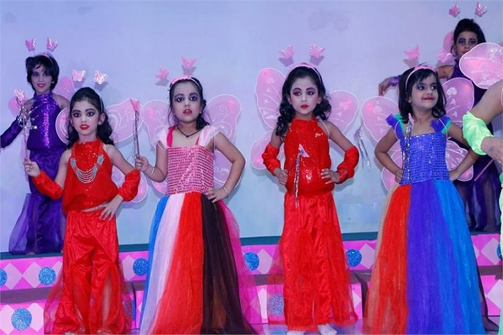 J M International School-Dance