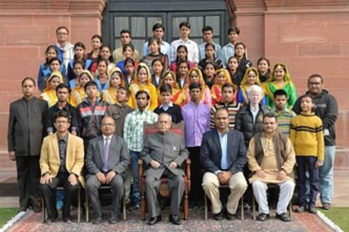 J P M Sr Sec School For The Blind-Visit to Rastrapati Bhawan