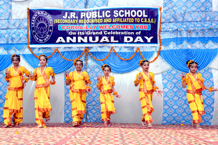 J R Public School-Cultural Dance