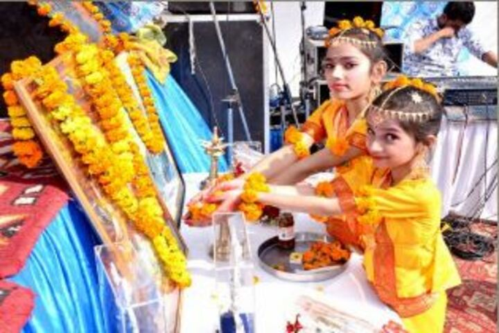 J R Public School-Pooja Event