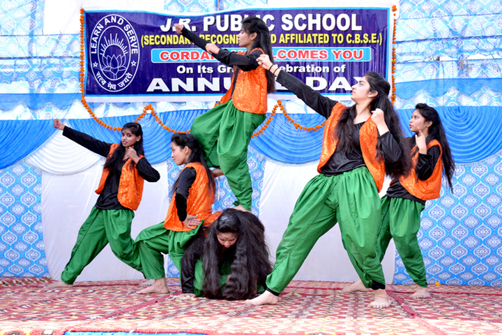 J R Public School-Punjabi Dance