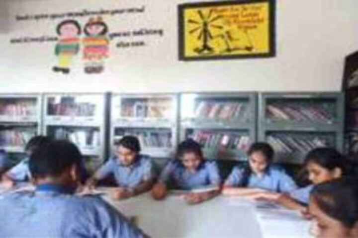 Jagannath Interational School-Library