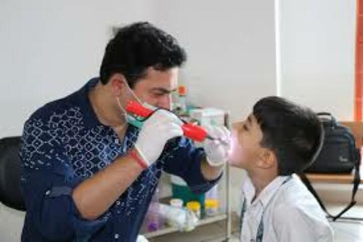 Jagannath Interational School-Medical Checkup