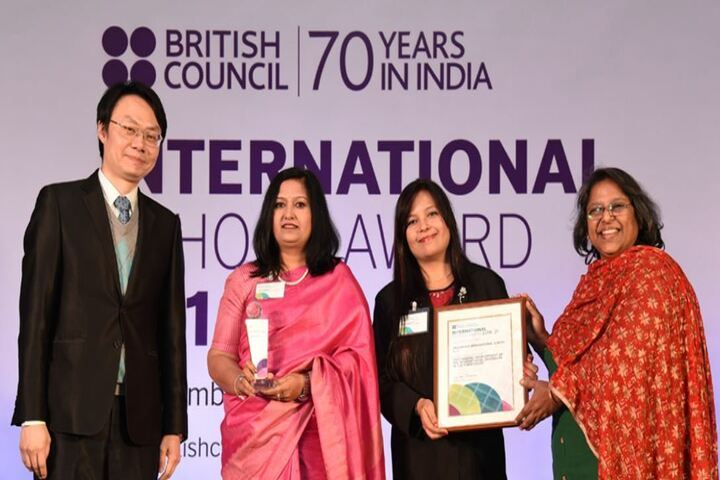 Jagannath Interational School-School Award