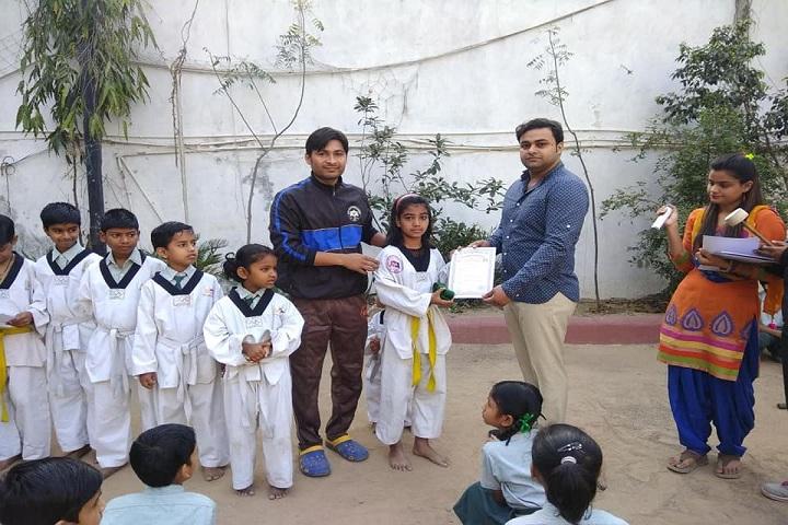 Jagriti Public School-Karate