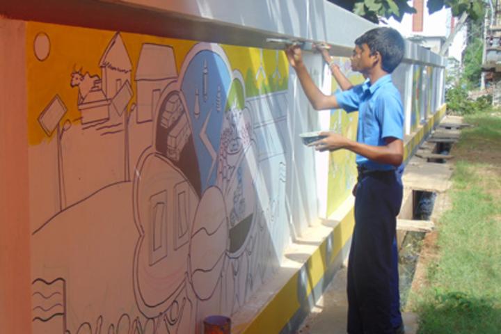 Sri Venkateswara Bala Kuteer-Grafity
