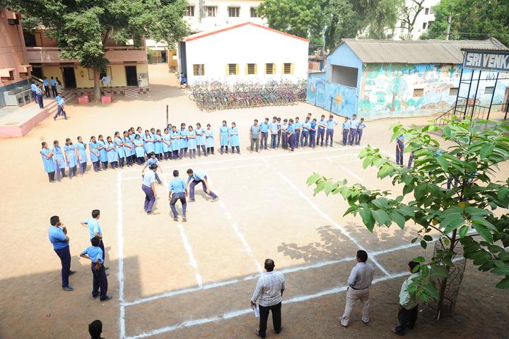 Sri Venkateswara Bala Kuteer-Sports Day Celebrations Khabbadi