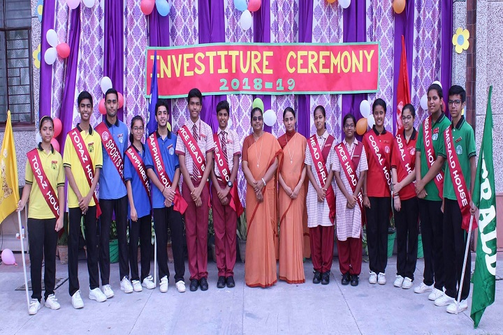 Jesus Mary Joseph School-Investure Ceremony