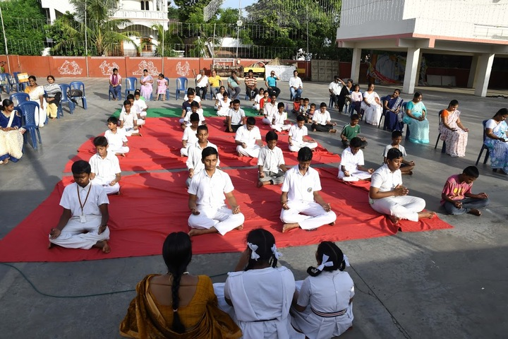 Sri Vijnana Vihara English Medium School-International Yoga Day