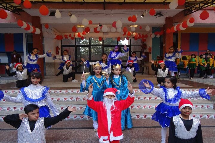 Jinvani Bharti Public School-Christmas Celebration