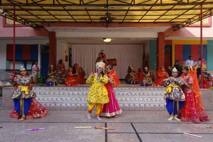 Jinvani Bharti Public School-Festival Celebration