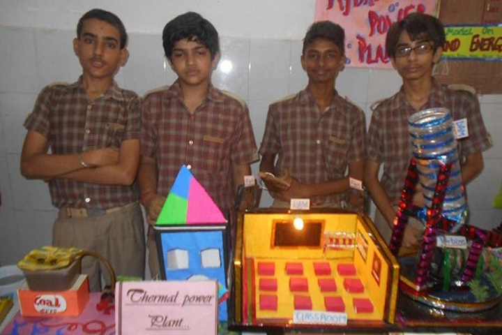 Jyoti Model School-Science Exhibition