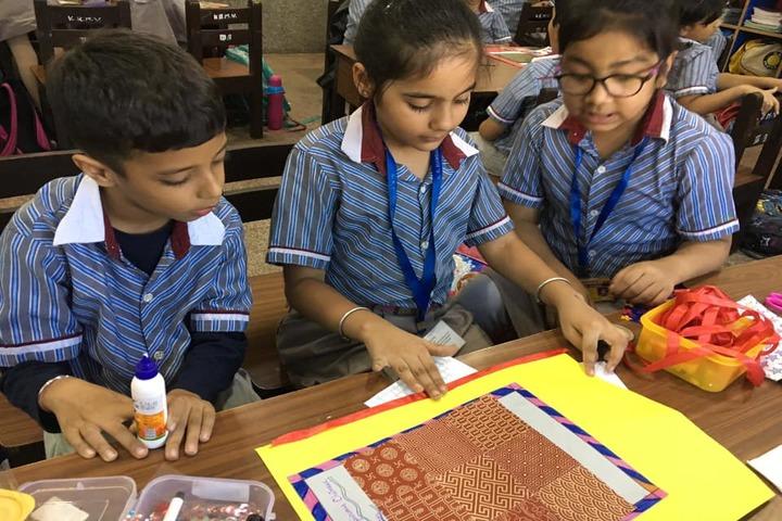 K R Mangalam World School-Art And Craft