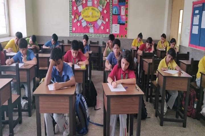 K R Mangalam World School-Classroom