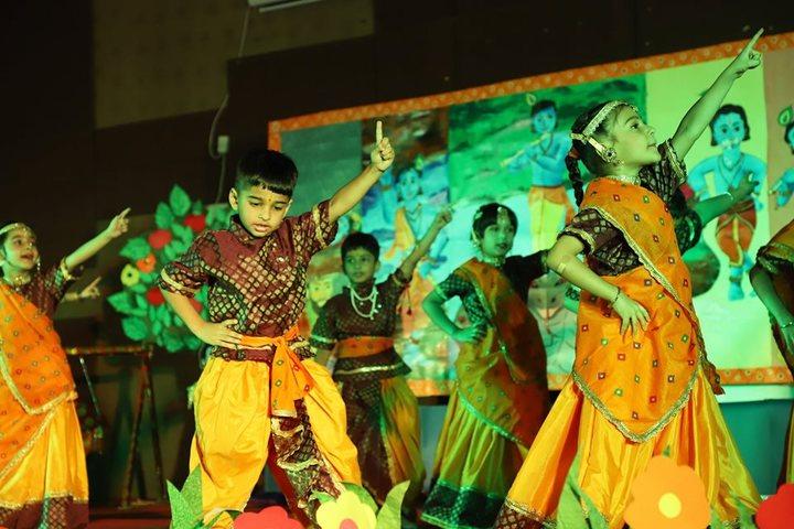 K R Mangalam World School-Cultural fest