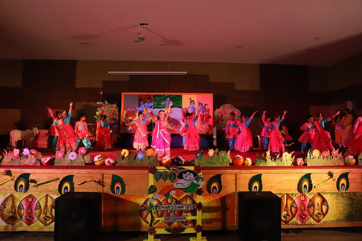 K R Mangalam World School-Dancing Activity
