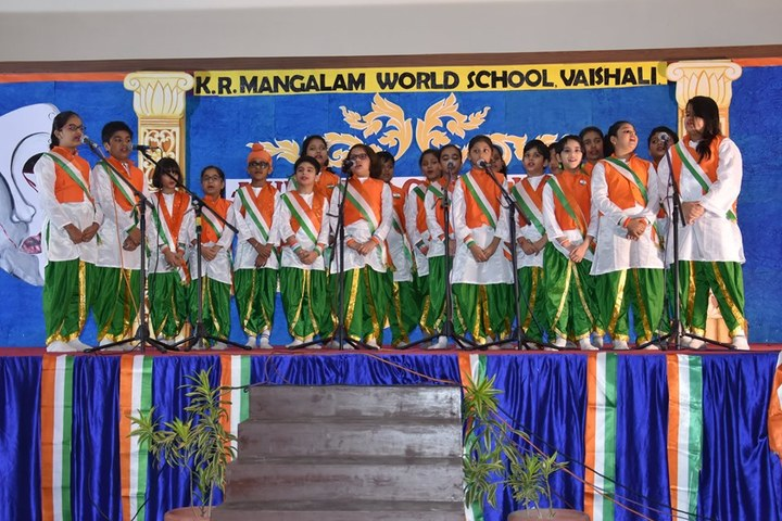 K R Mangalam World School-Independence Day