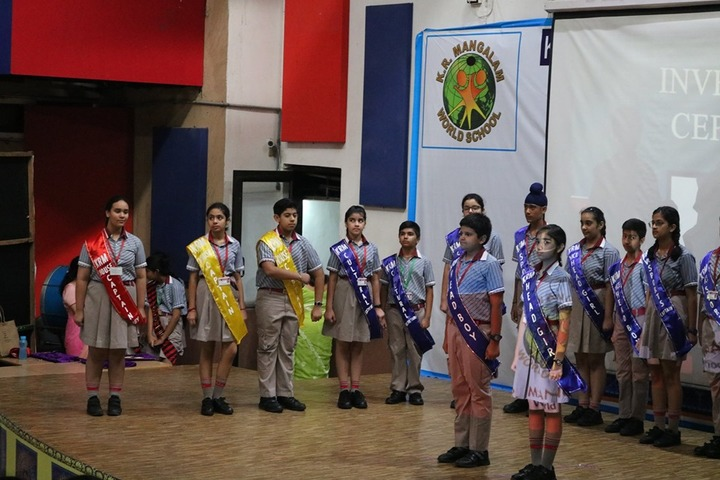 K R Mangalam World School-Investiture Ceremony