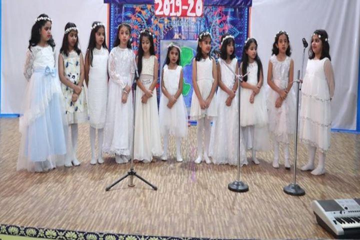 K R Mangalam World School-Music Activity