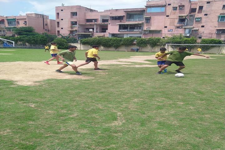 K R Mangalam World School-Play Ground