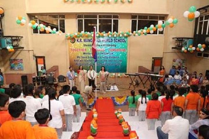 K R Mangalam World School-Republic day