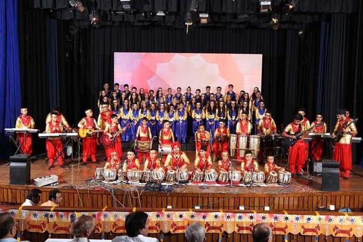 K R Mangalam World School-Music Competition