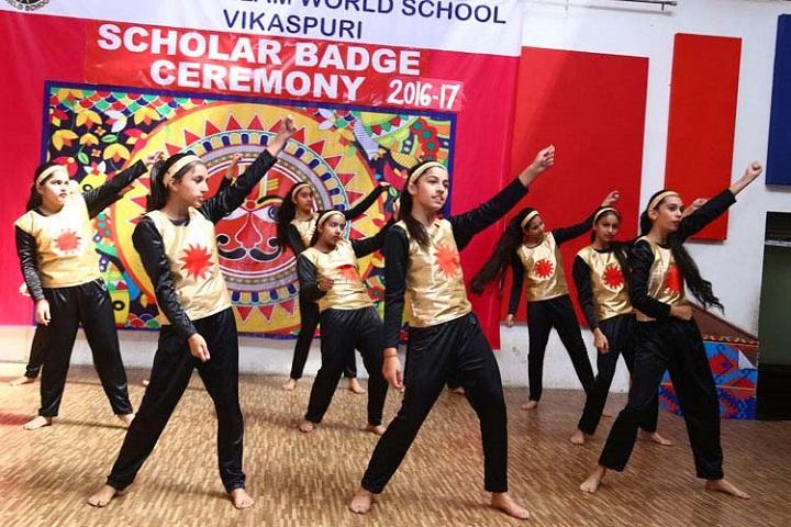 K R Mangalam World School-Dance