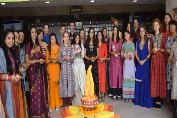 K R Mangalam World School-Diwali Celebration