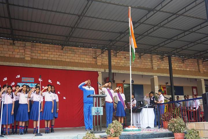 St Andrews High School-Republic Day Celebrations