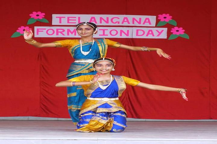 St Andrews High School-Telangana Formation Day Celebrations