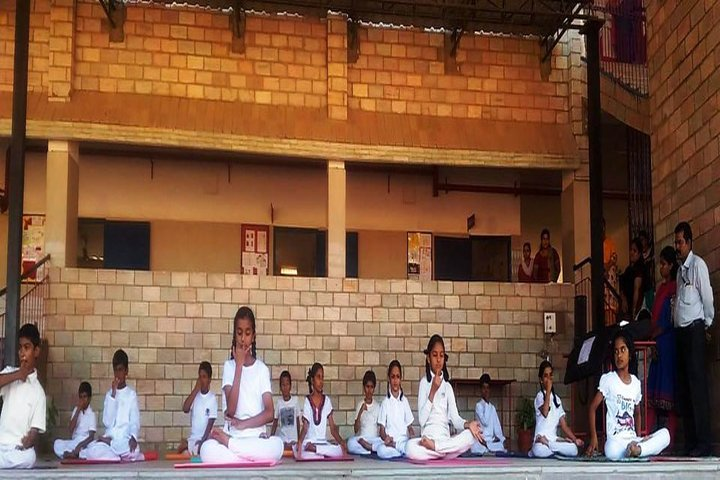 St Andrews High School-Yoga Day