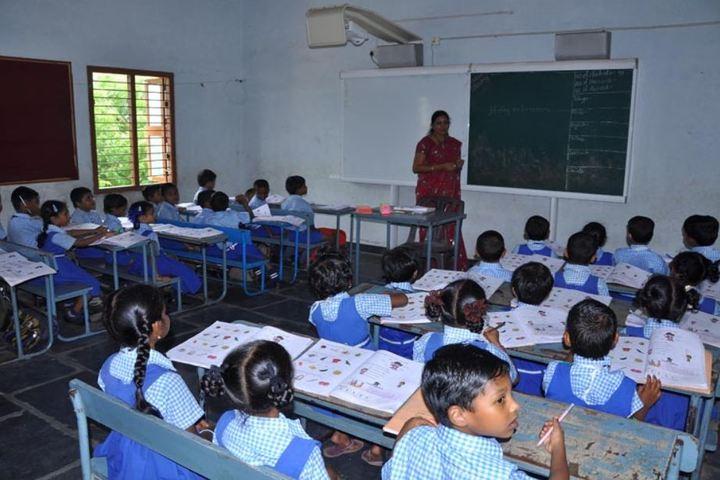 St Annes School-Classroom