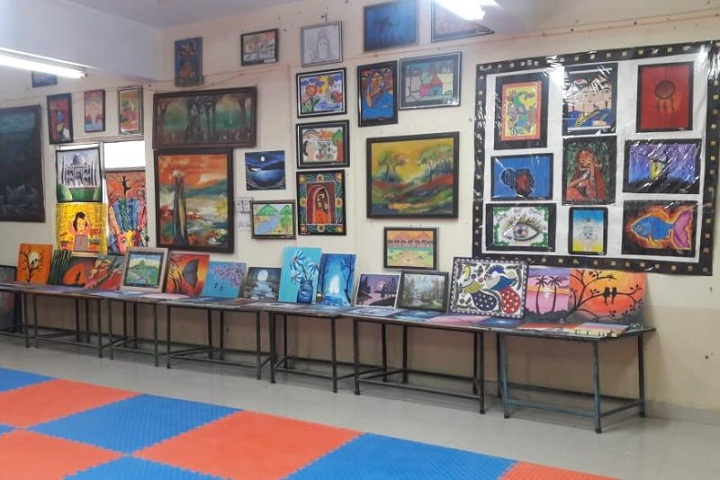 Kendriya Vidyalaya-Art-Exhibition