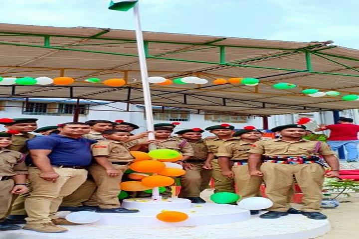 Kendriya Vidyalaya-Flag-Hoisting